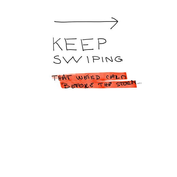keep swipping for an excel model